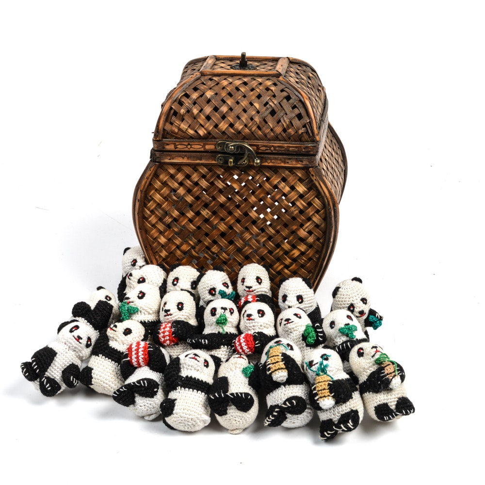 Crochet Amigurumi Panda Collection