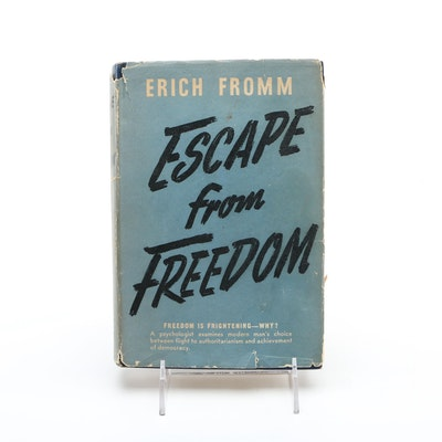 "Vintage Hardcover ""Escape from Freedom"" by Erich Fromm"