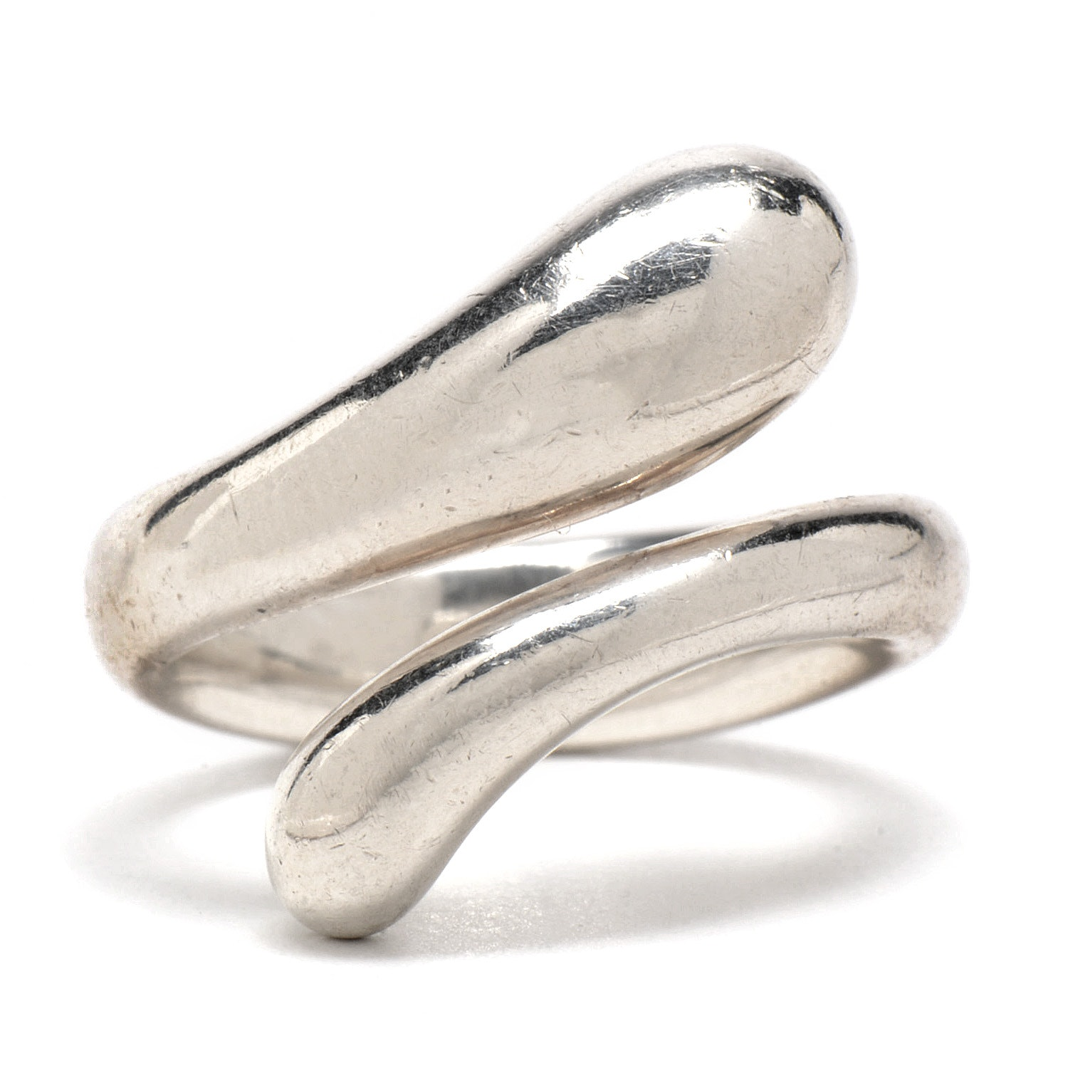 Tiffany & Co. Elsa Peretti Sterling Silver Bypass Ring