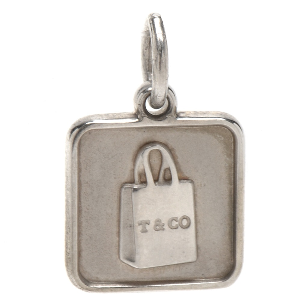 Tiffany & Co. Sterling Silver Lock Charm