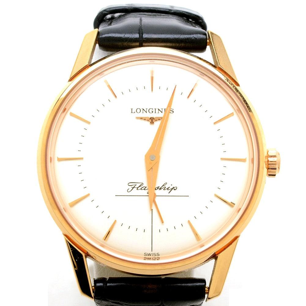 Longines Flagship Heritage 18K Solid Rose Gold Automatic 35mm