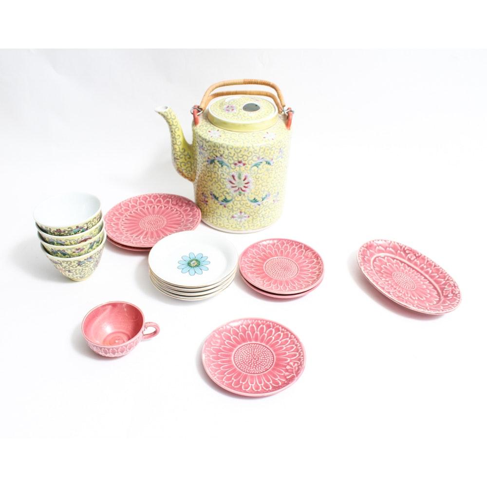 Vintage Asian Tea Assortment