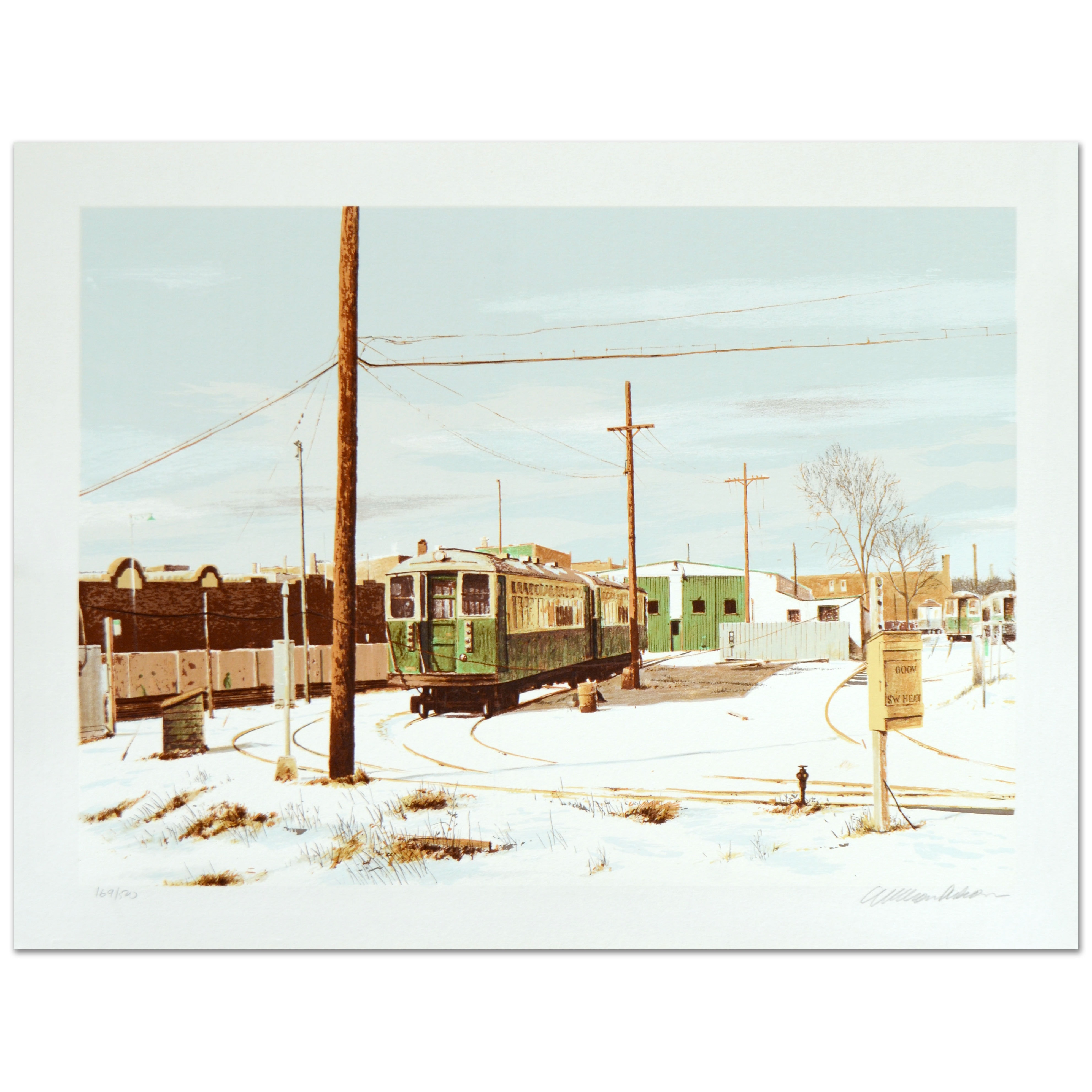 "William Nelson Limited Edition Serigraph ""Kimball Turnaround"""