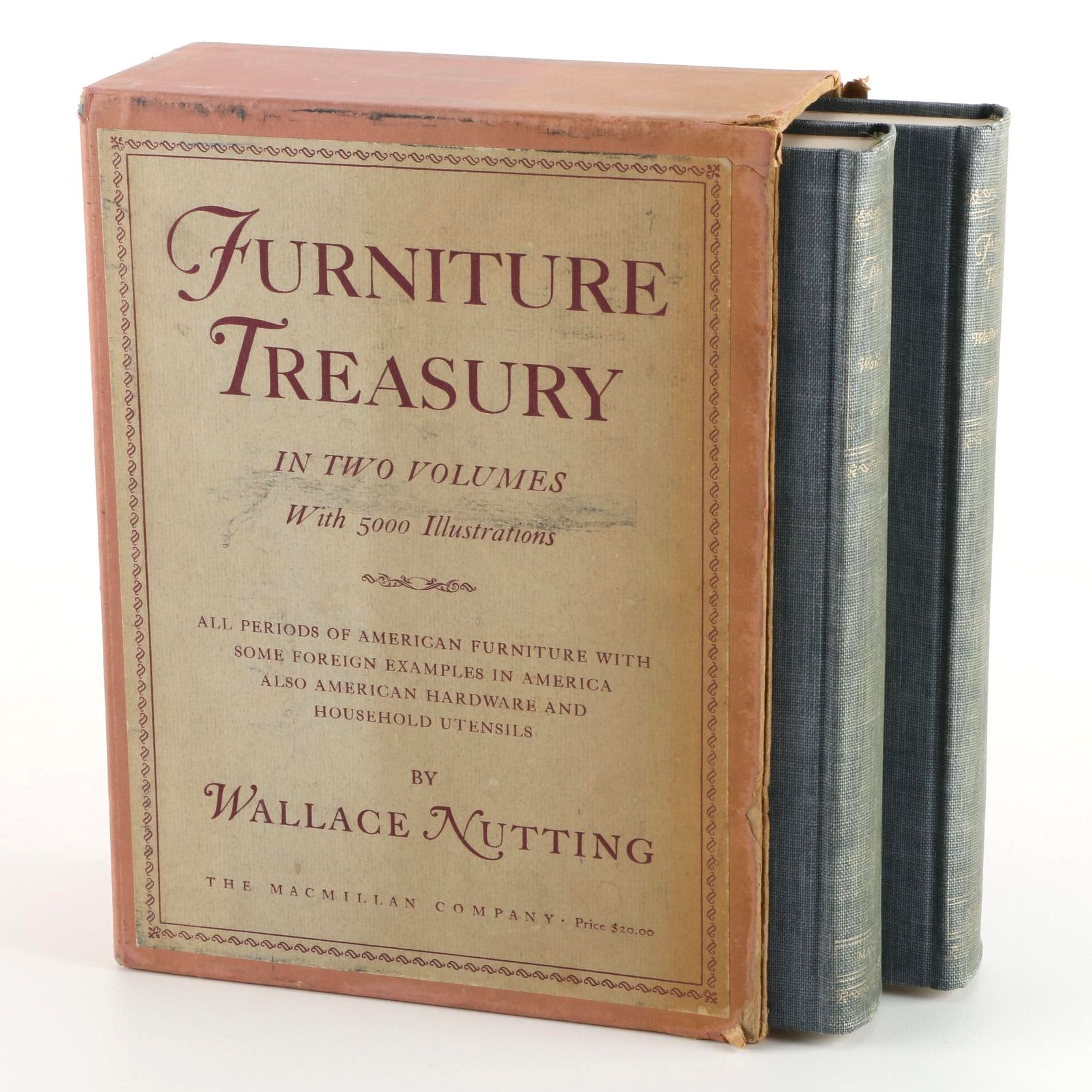 1948 furniture treasury volumes i and ii by wallace nutting ebth rh ebth com Toluca Mexico Furniture 1948 1948 furniture style