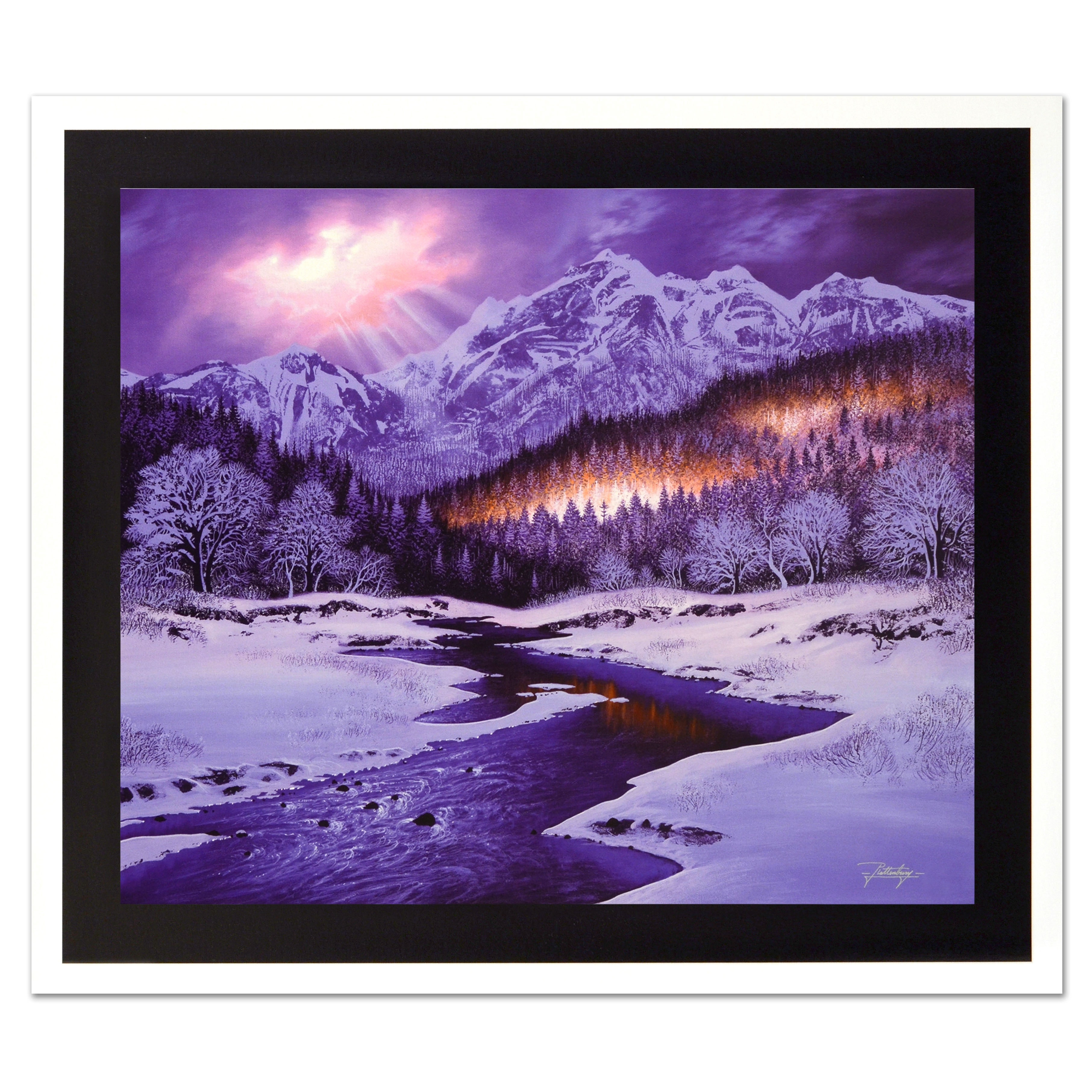 """Jon Rattenbury Limited Edition Giclée on Canvas """"""""Let There Be Light"""""""