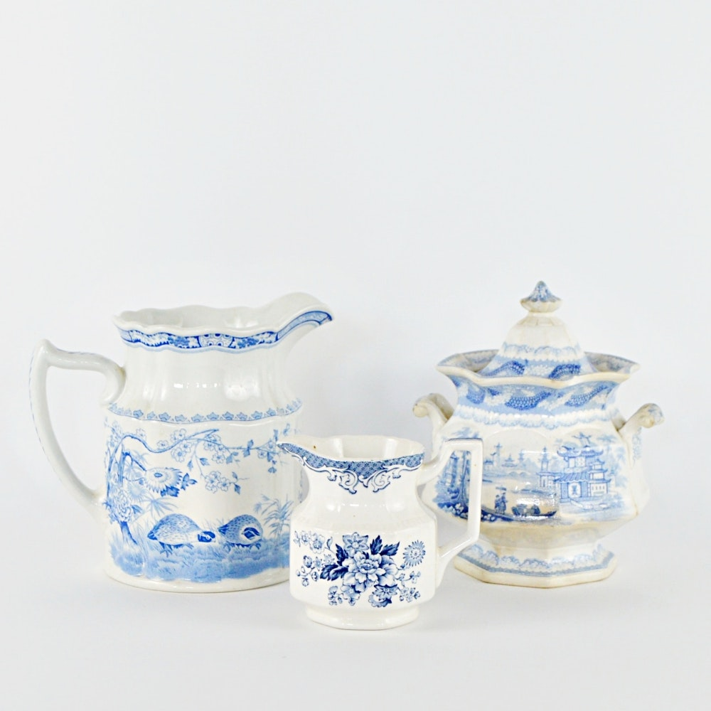 Antique Blue and White China