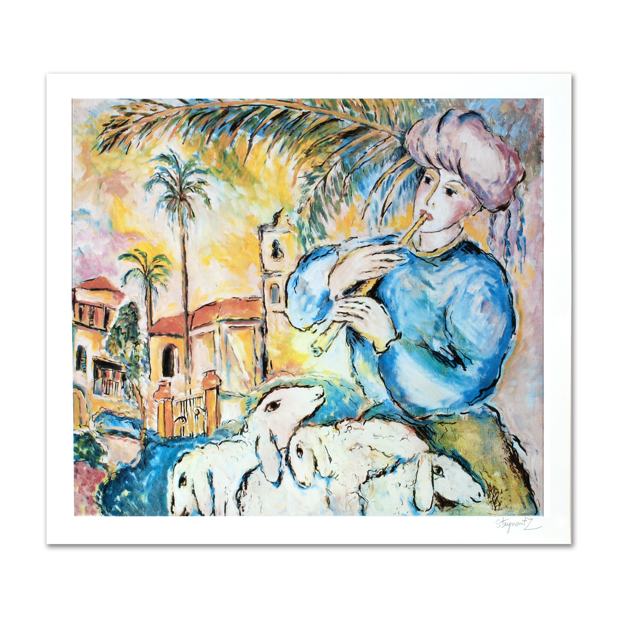 "Zamy Steynovitz Limited Edition Offset Lithograph ""Jaffa"""