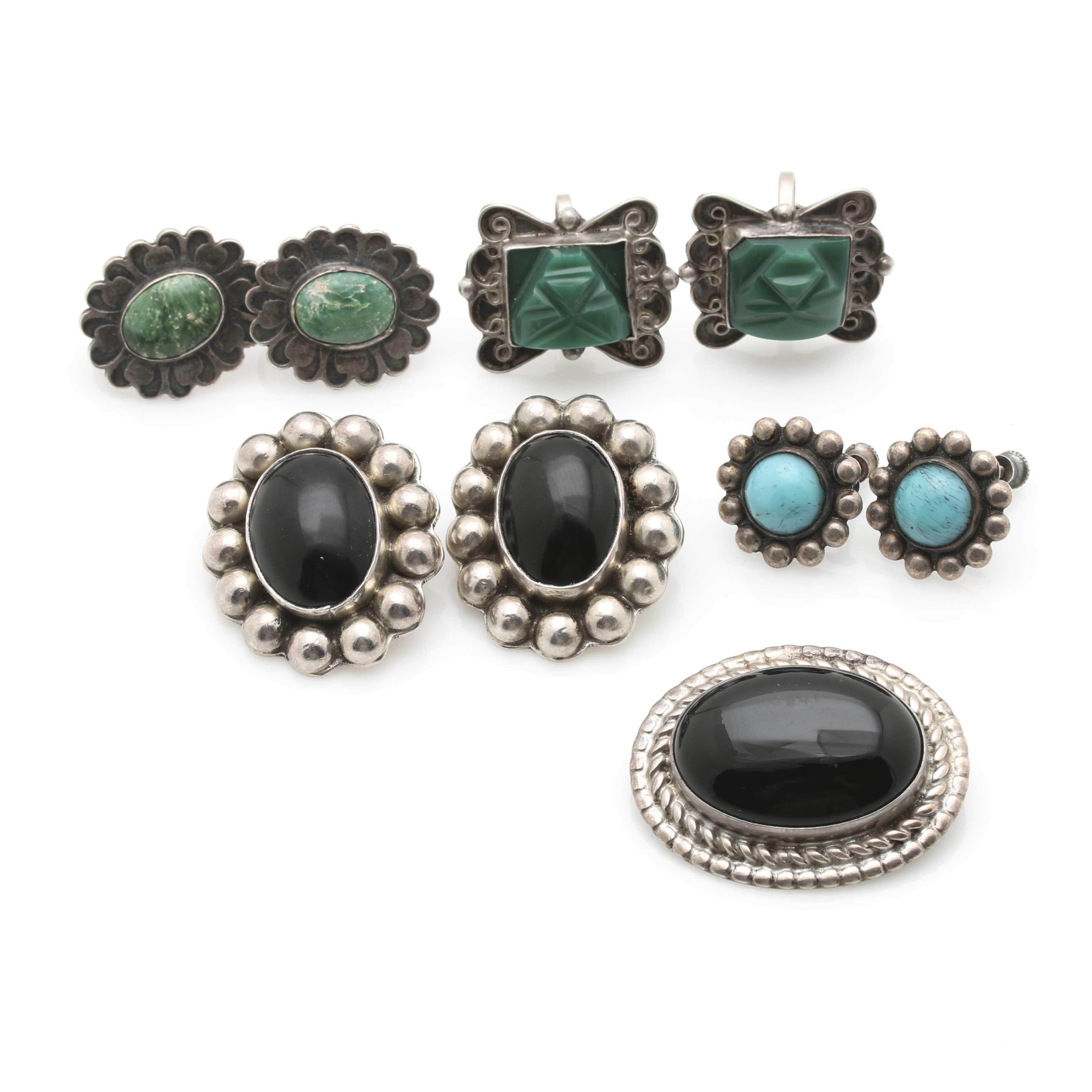 Southwestern Inspired Sterling Silver and Gemstone Jewelry