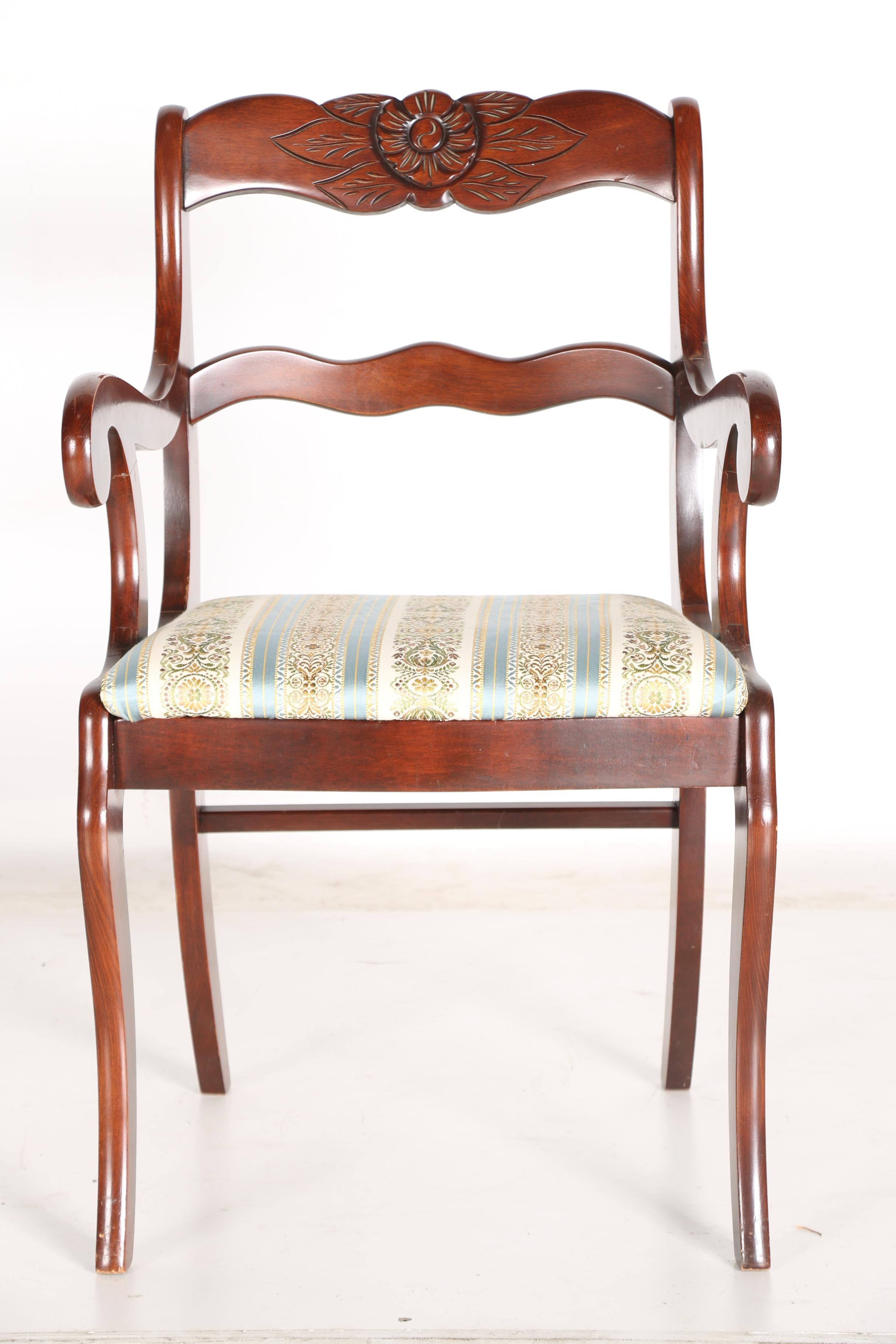 Vintage Classical Style Dining Chairs By Tell City Chair
