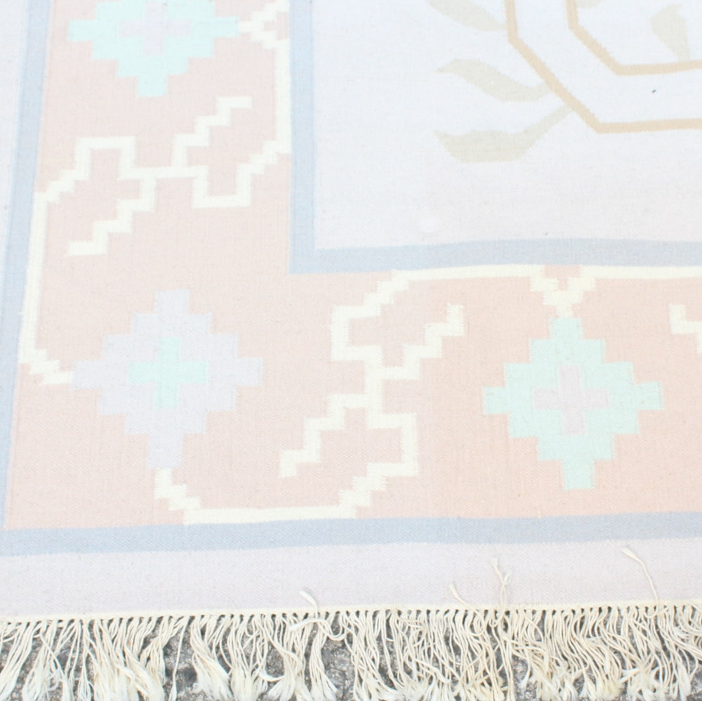 Vintage Handknotted Chinese Wool Rug