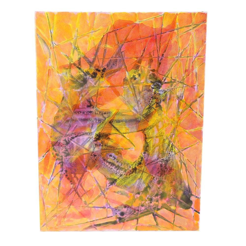 """Ricardo Morin Oil Painting on Linen """"00032"""""""