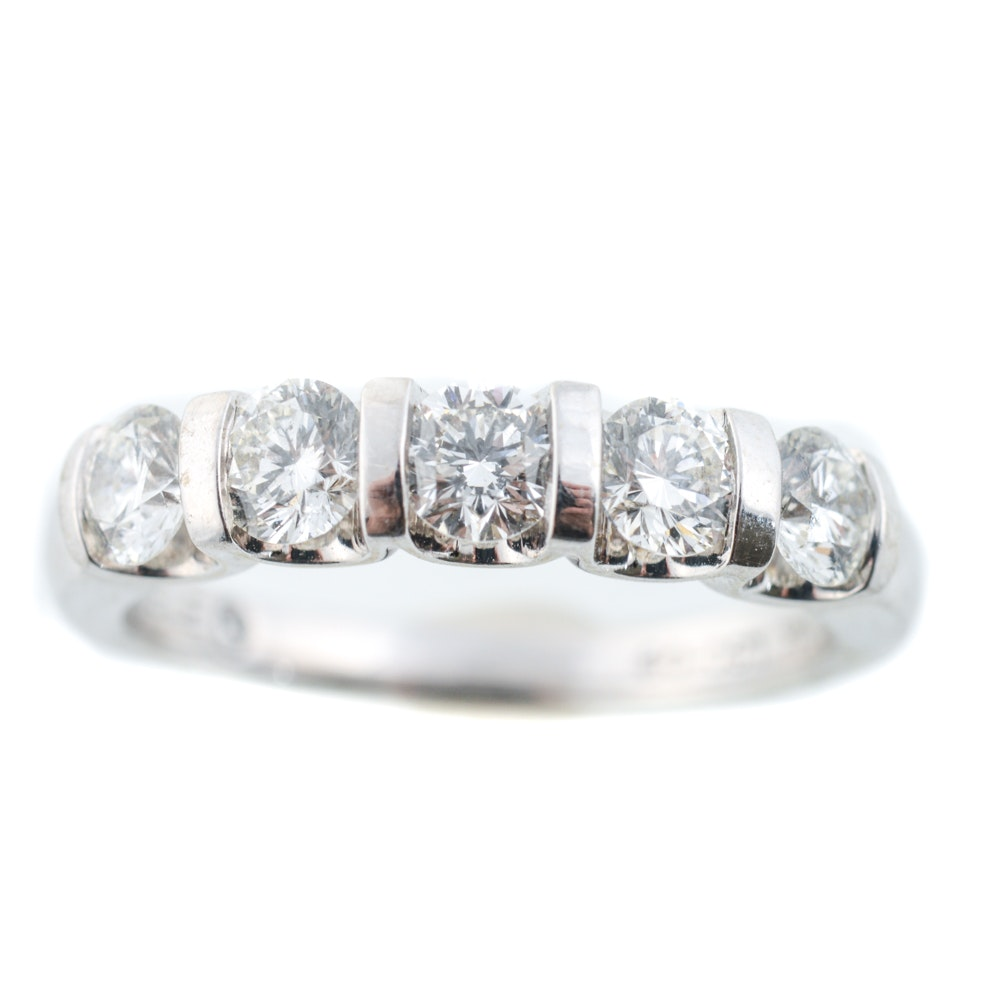 The Leo Diamond 14K White Gold 1.08 CTW Diamond Ring