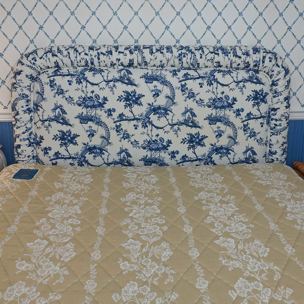 Upholstered Queen Size Headboard