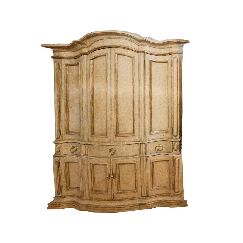 Ordinaire Contemporary Entertainment Armoire By Marge Carson ...