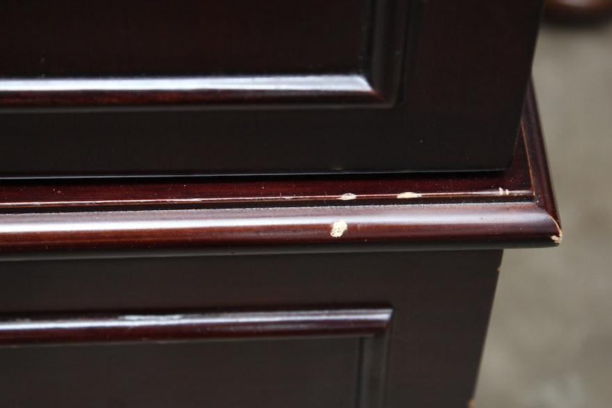 Contemporary jewelry cabinet by the bombay company ebth for Bombay mahogany kitchen cabinets