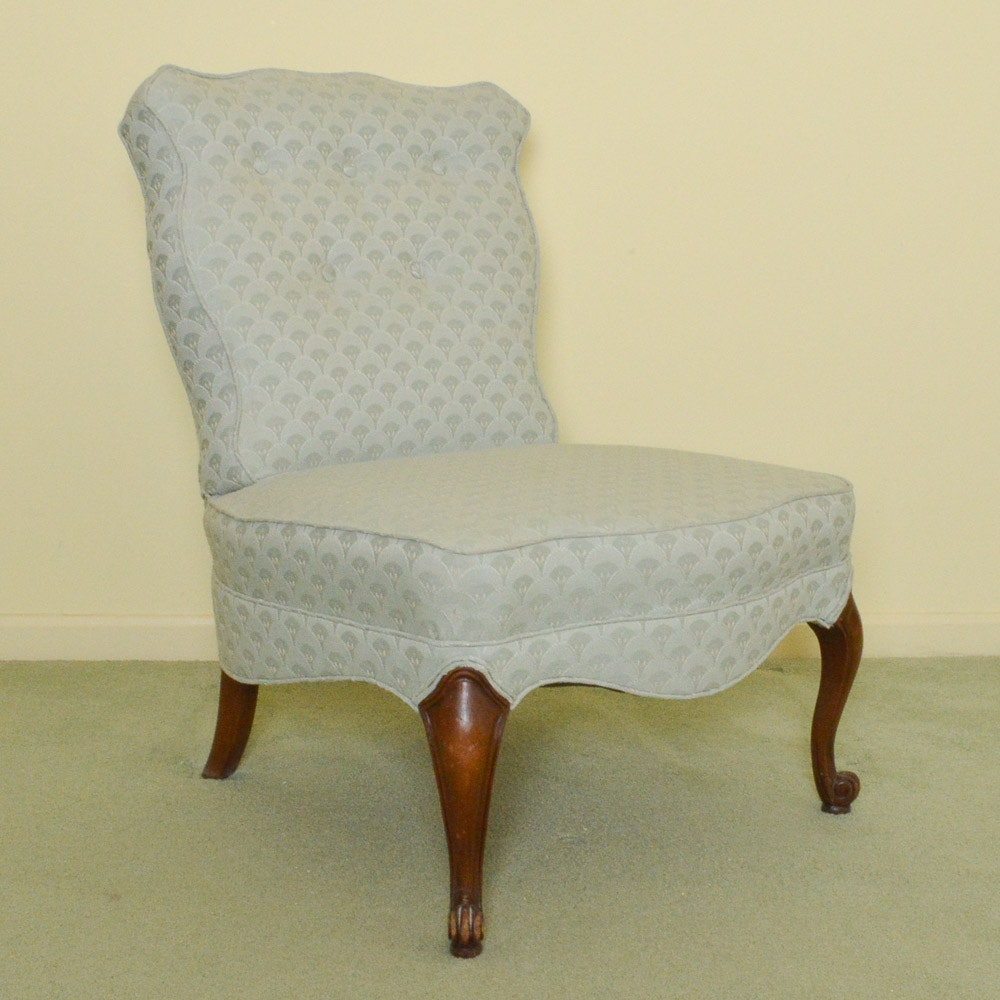 Vintage Slipper Chair ...