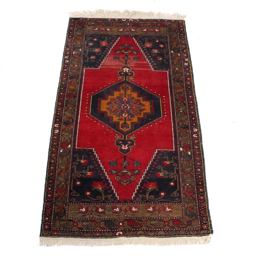 Handwoven Turkish Wool Runner