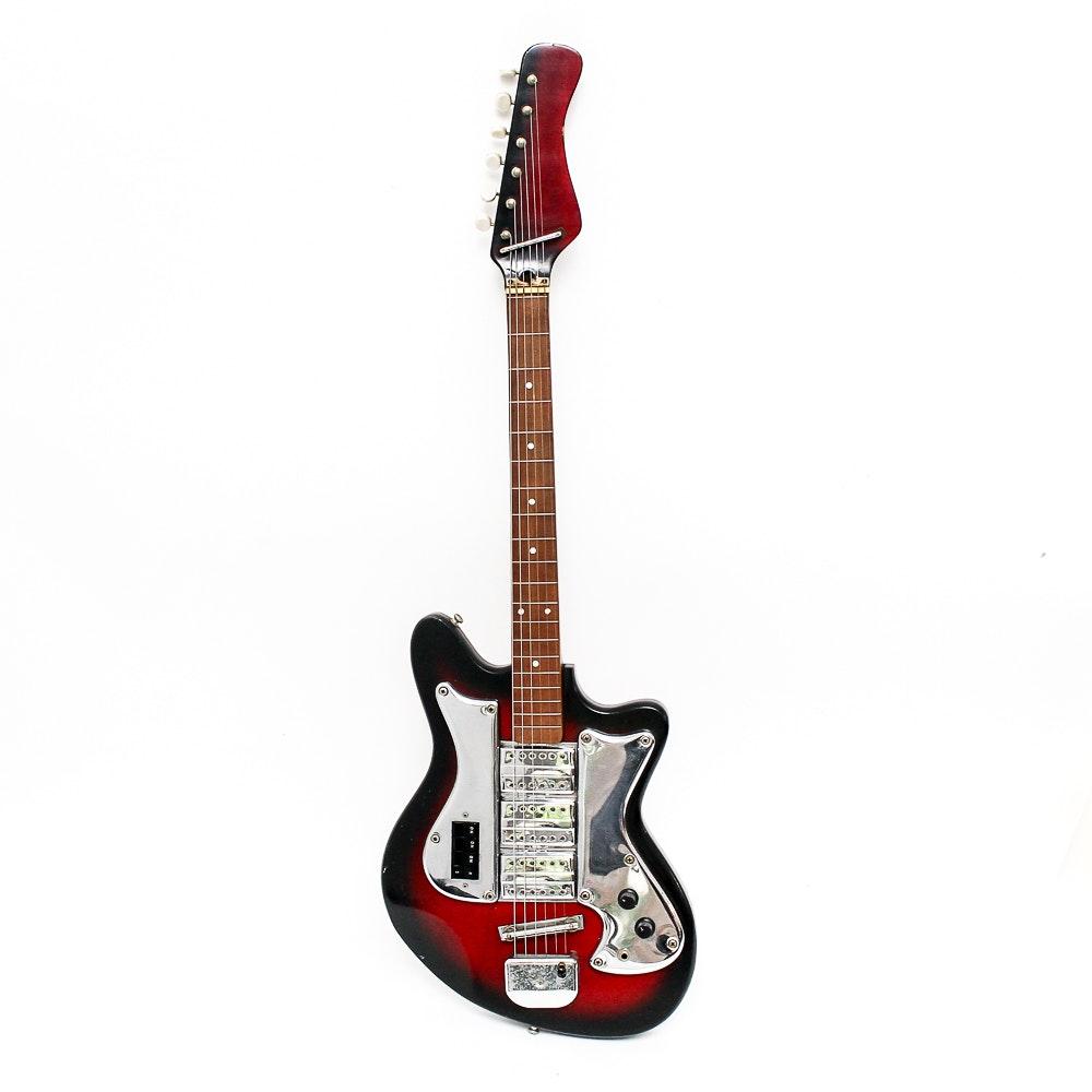 Vintage Prestige Teisco Electric Guitar Ebth
