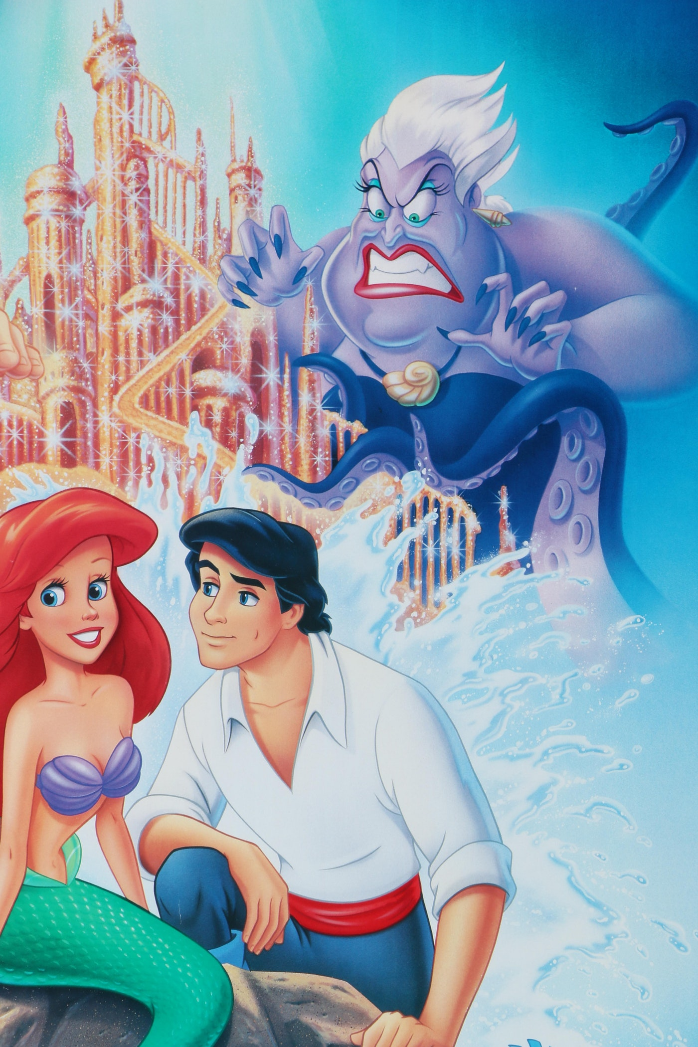 "Original ""The Little Mermaid"" Movie Release Poster : EBTH"