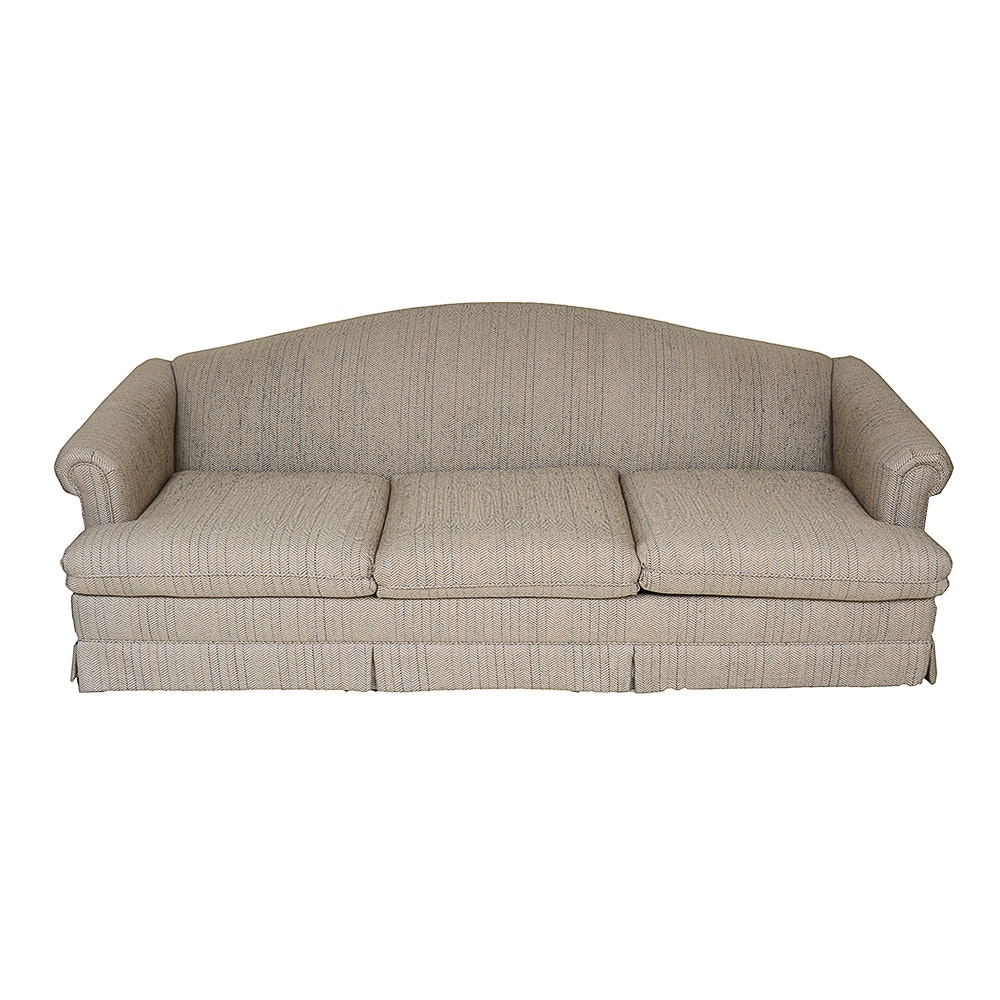 Simmons Company Hide A Bed Sleeper Sofa Ebth