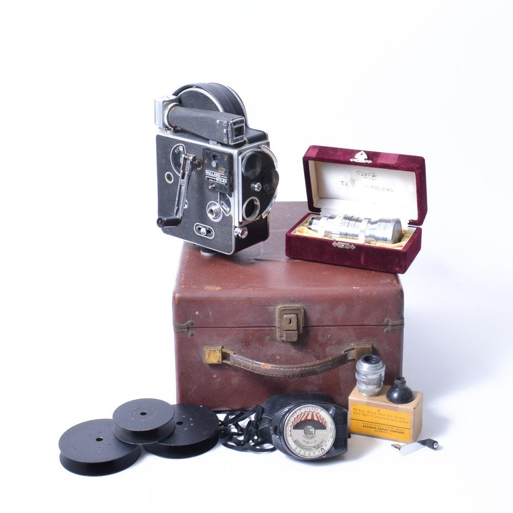 Paillard Bolex Camera