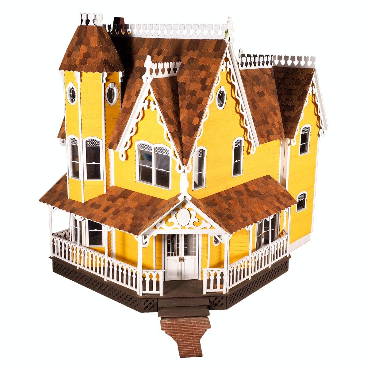 "Greenleaf ""Pierce"" Victorian Style Dollhouse"