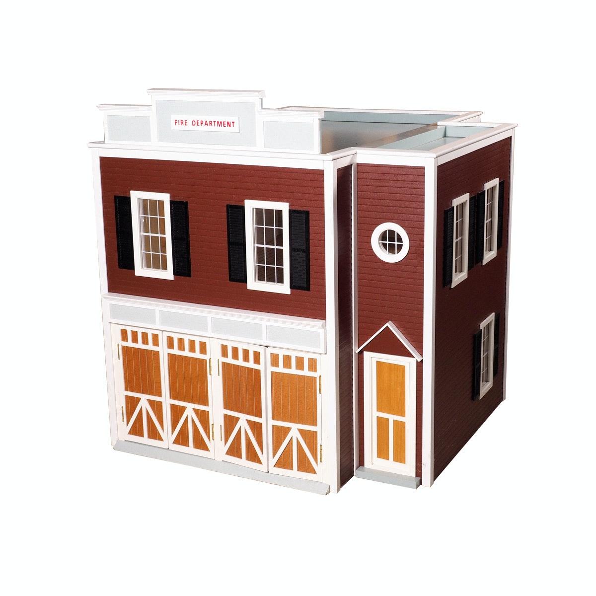 Fire Station Dollhouse