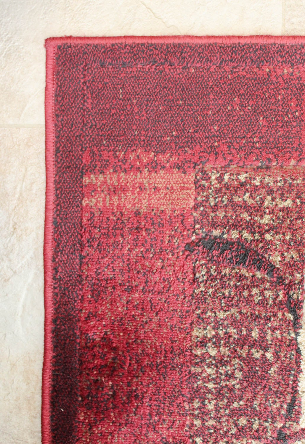 Allen Roth Quot Tinsley Red Quot Contemporary Area Rug Ebth