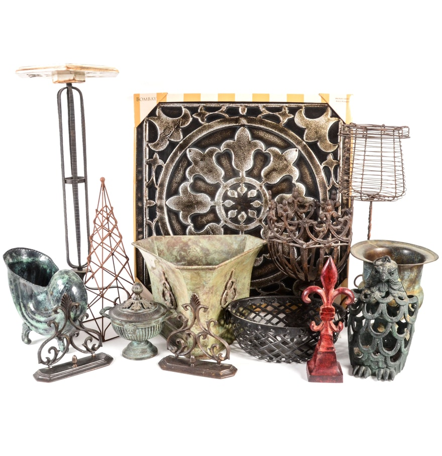 Collection of metal home decor ebth - Home decor home business collection ...