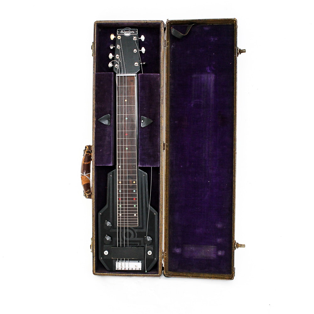 Art Deco Epiphone Electar Model M Lap Steel Guitar