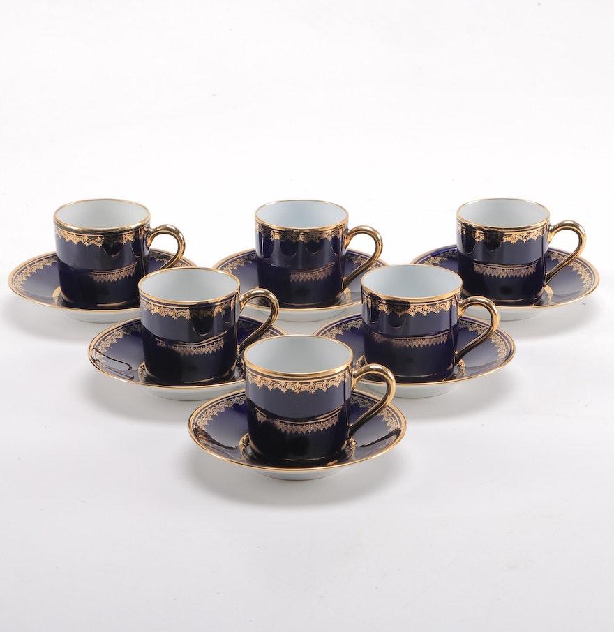 Table et d cor limoges espresso set ebth for Decor 8 piece lunch set