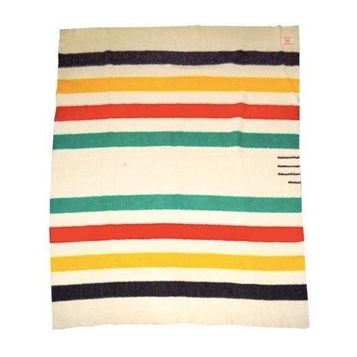 Vintage Hudson's Bay Point Blanket