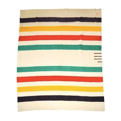 Vintage Hudson's Bay Point Blanket