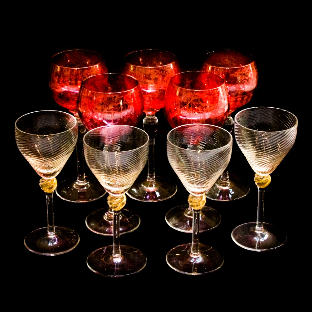 Collection of Stemware