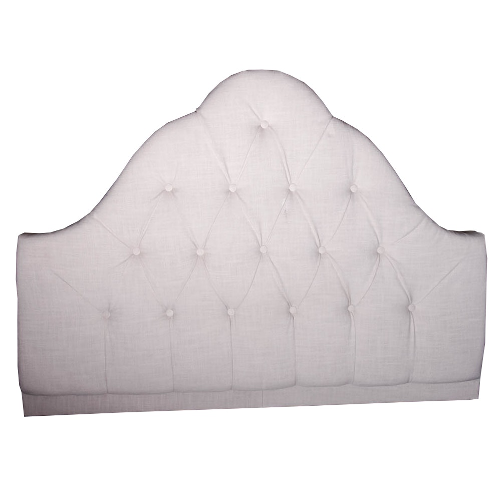 Queen Size Button-Tufted Headboard