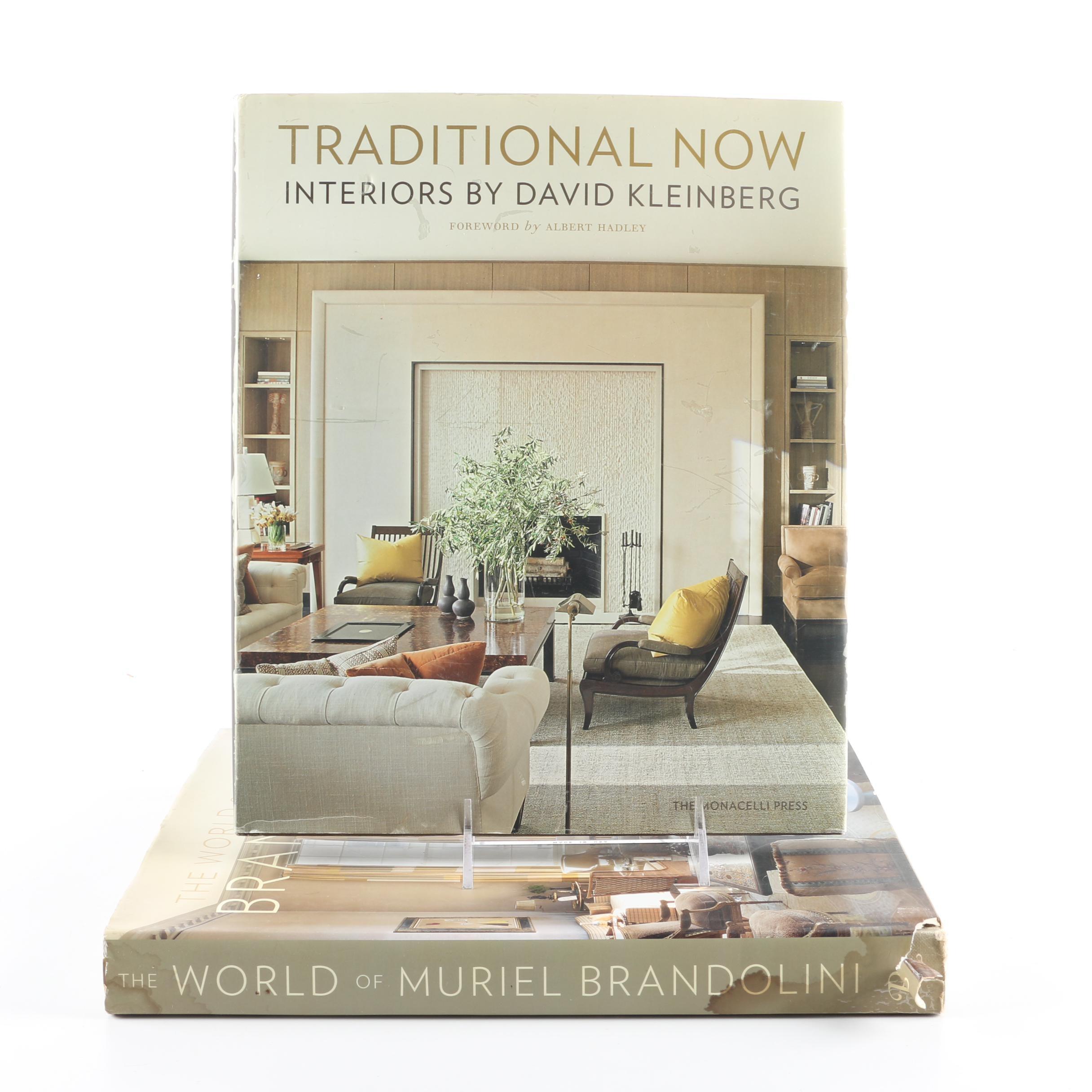 Pair of Interior Design Books
