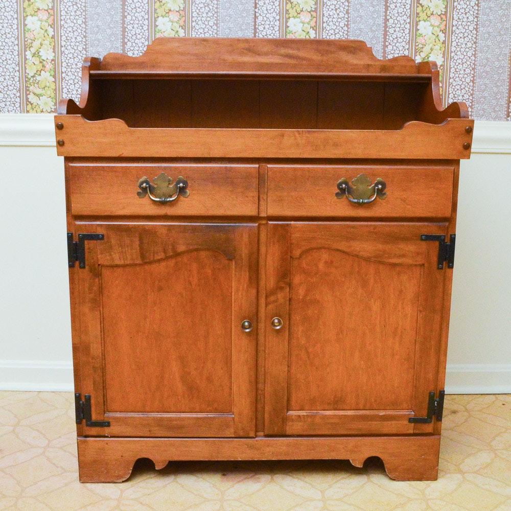 Ethan Allen Dry Sink Ethan Allen Dark Antiqued Pine Old