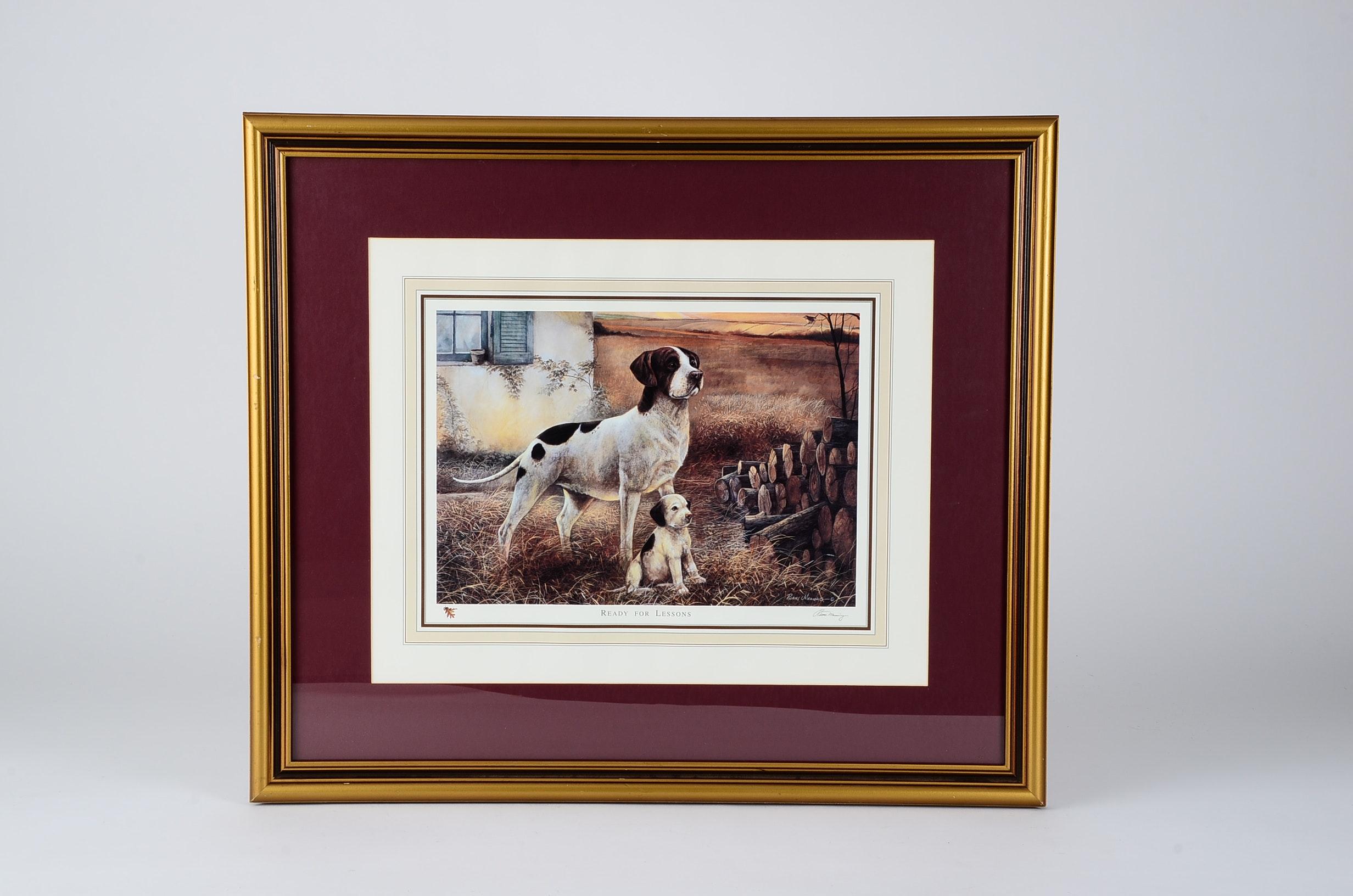 Framed Dog Print