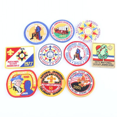 Boy Scout Jamboree Replica Patches