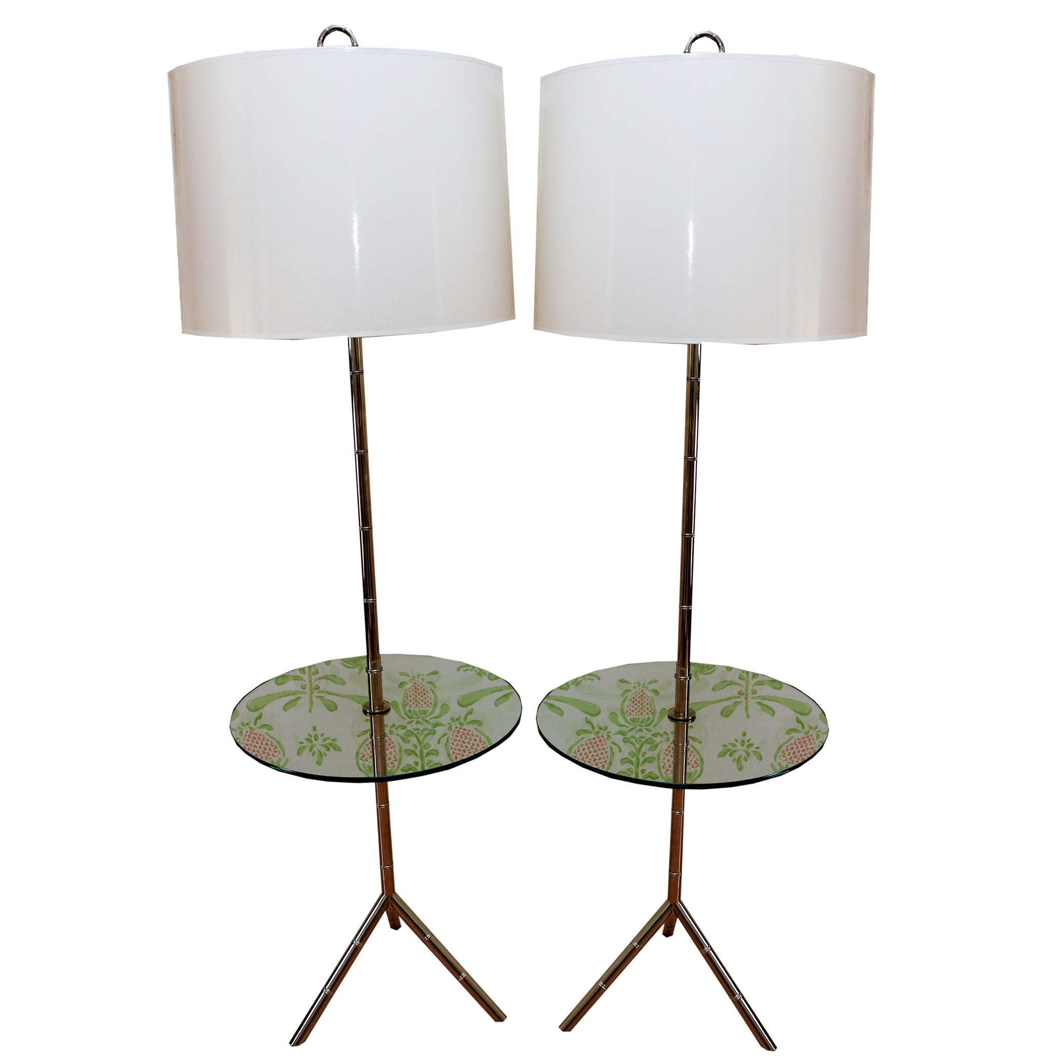 Floor Lamps with Table Accents
