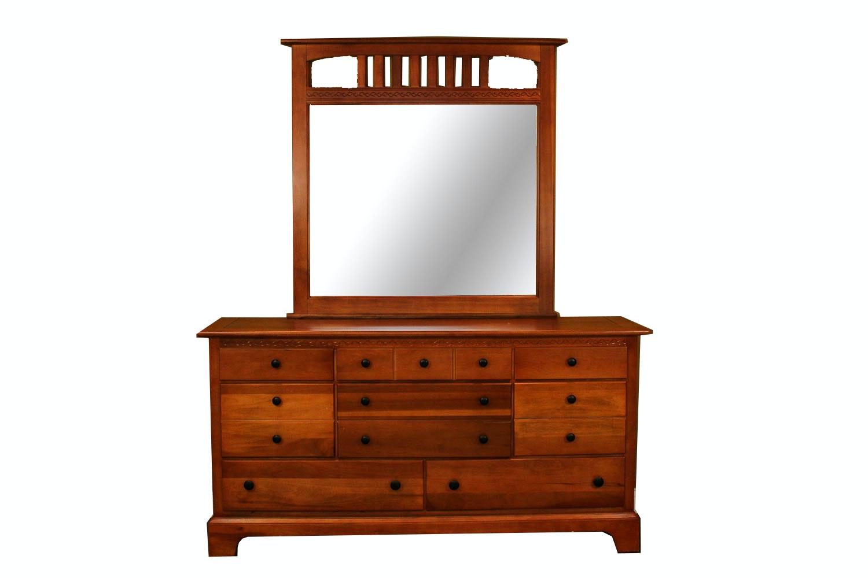 Merveilleux Vaughan Furniture Dresser With Mirror ...