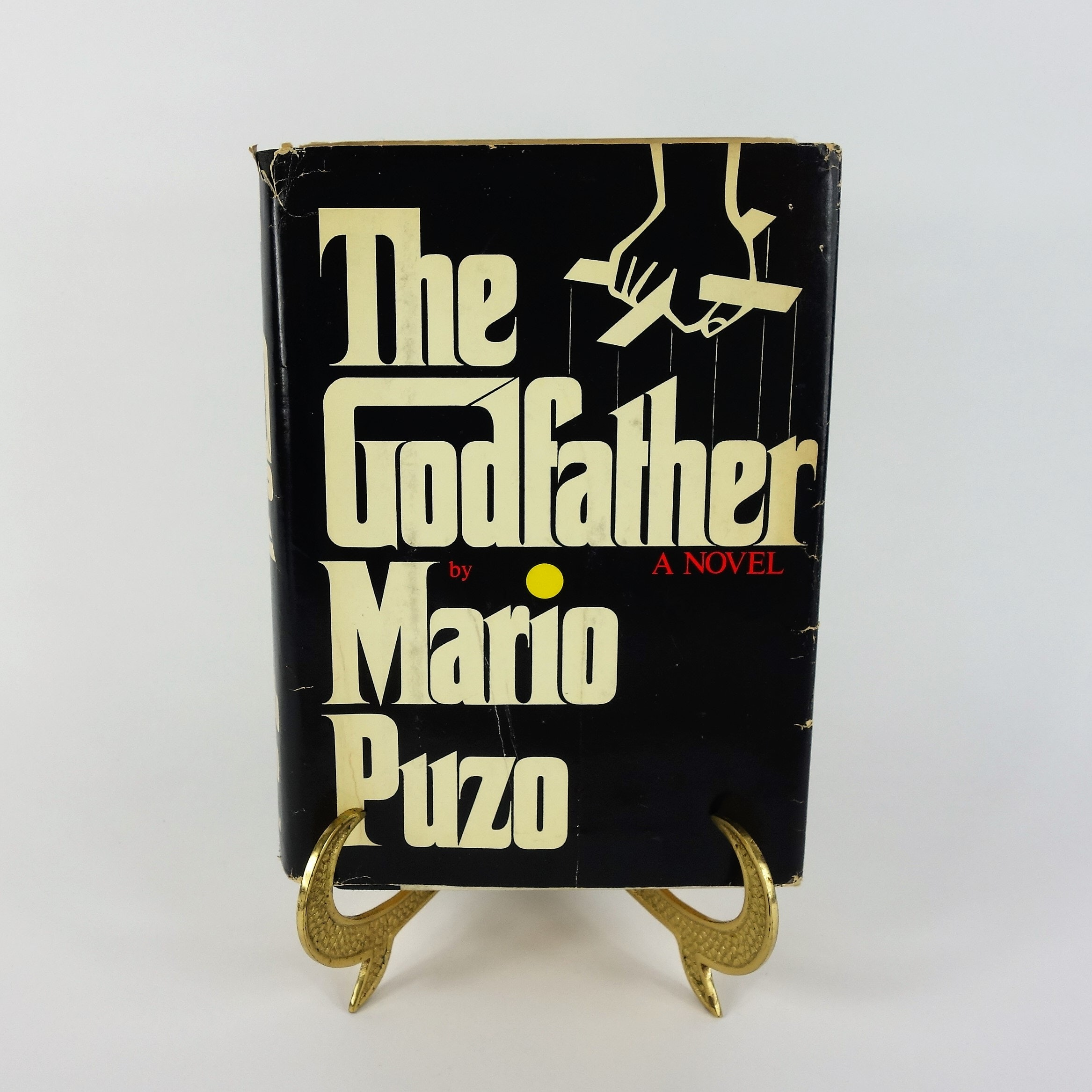 """1969 Signed First Edition """"The Godfather"""" by Mario Puzo"""