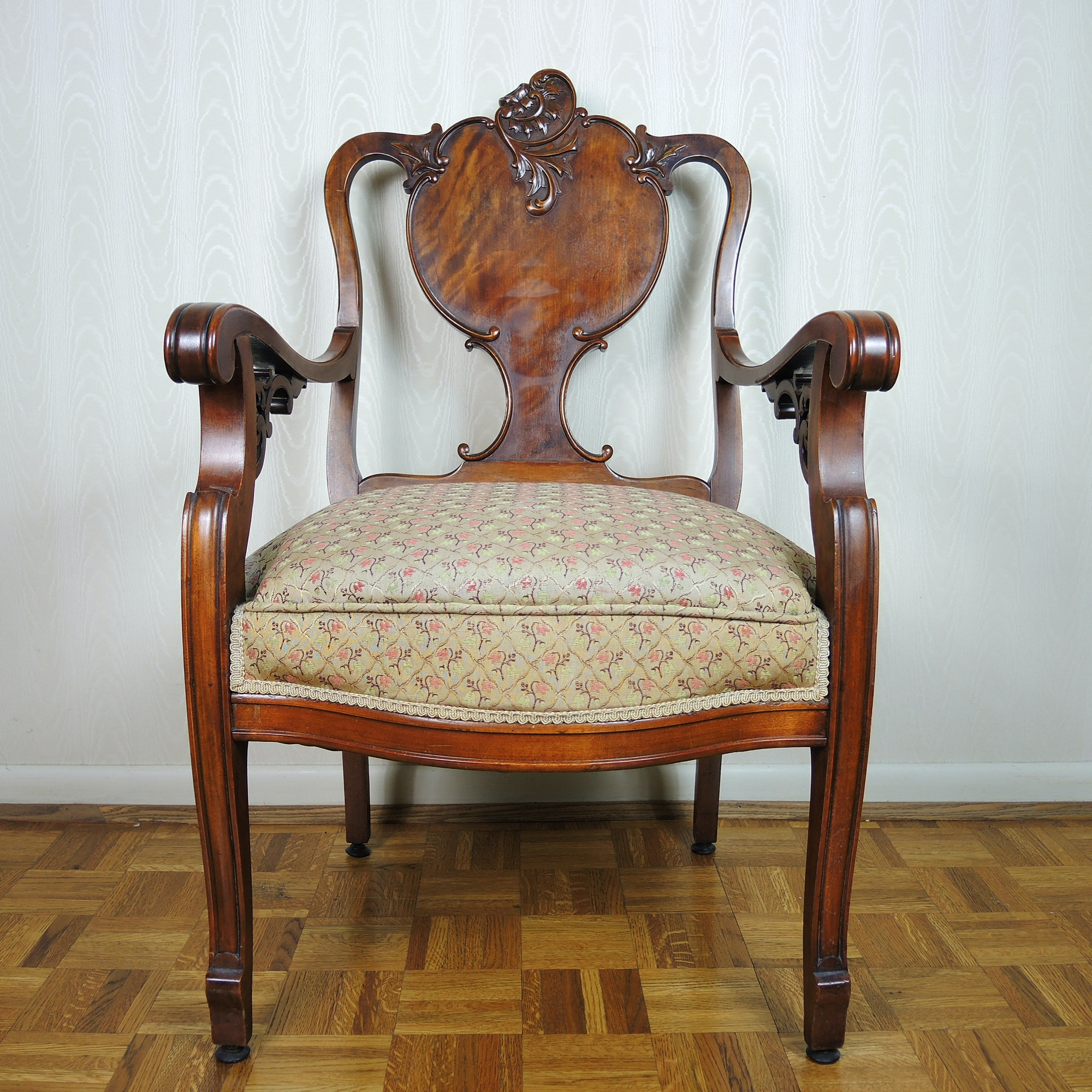 Carved Occasional Chair