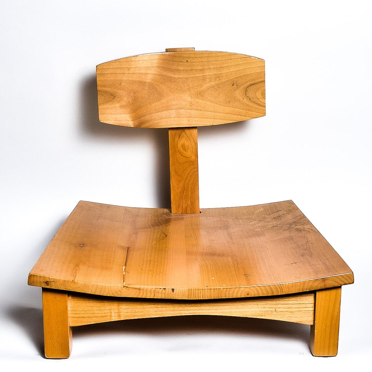 Pine Meditation Chair | EBTH