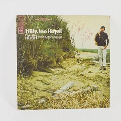 Signed Billy Joe Royal LP