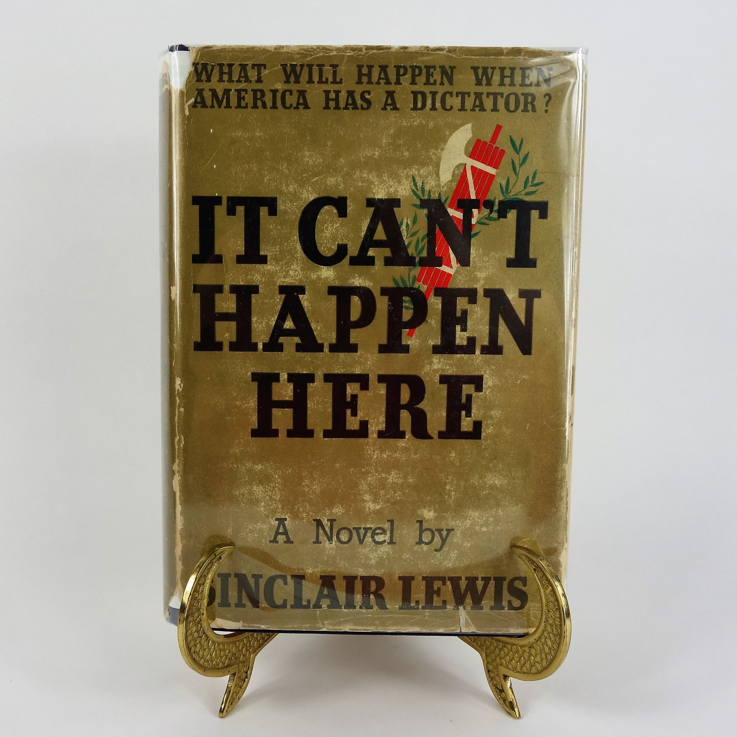 "1935 ""It Can't Happen Here"" by Sinclair Lewis"