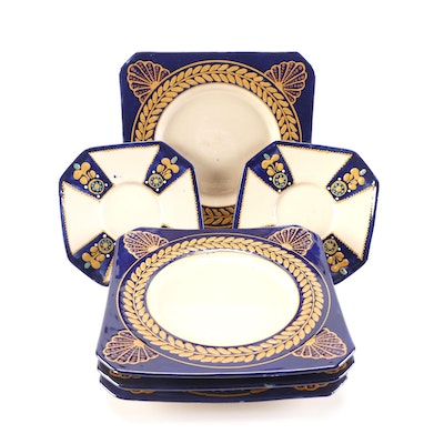 Harriot Quimper Pottery Plates