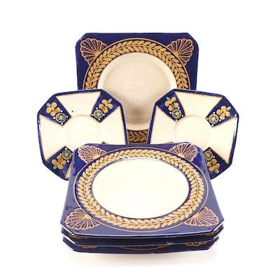 Harriot Quimper Pottery Plates