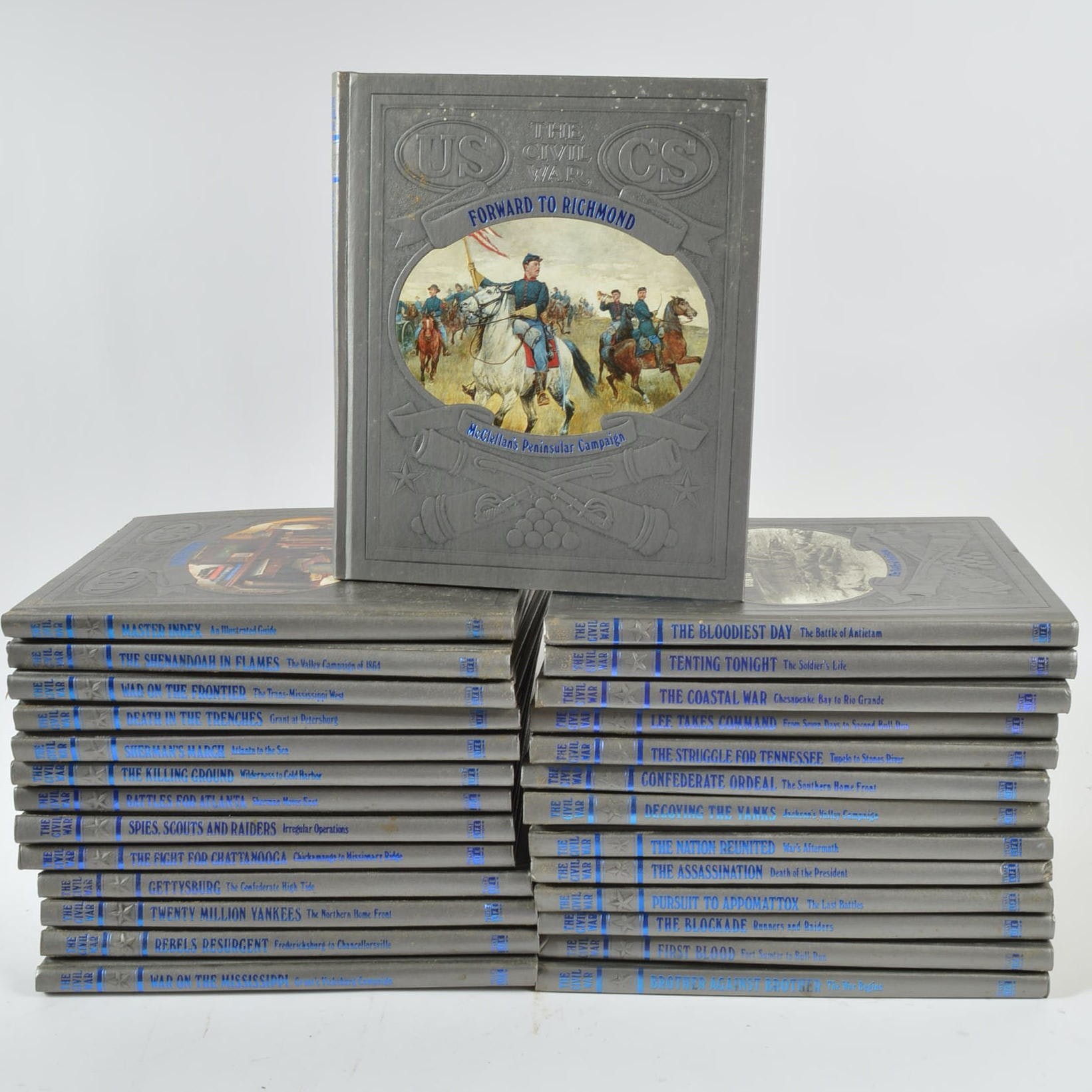 "Set of ""Time Life the Civil War"" Books"