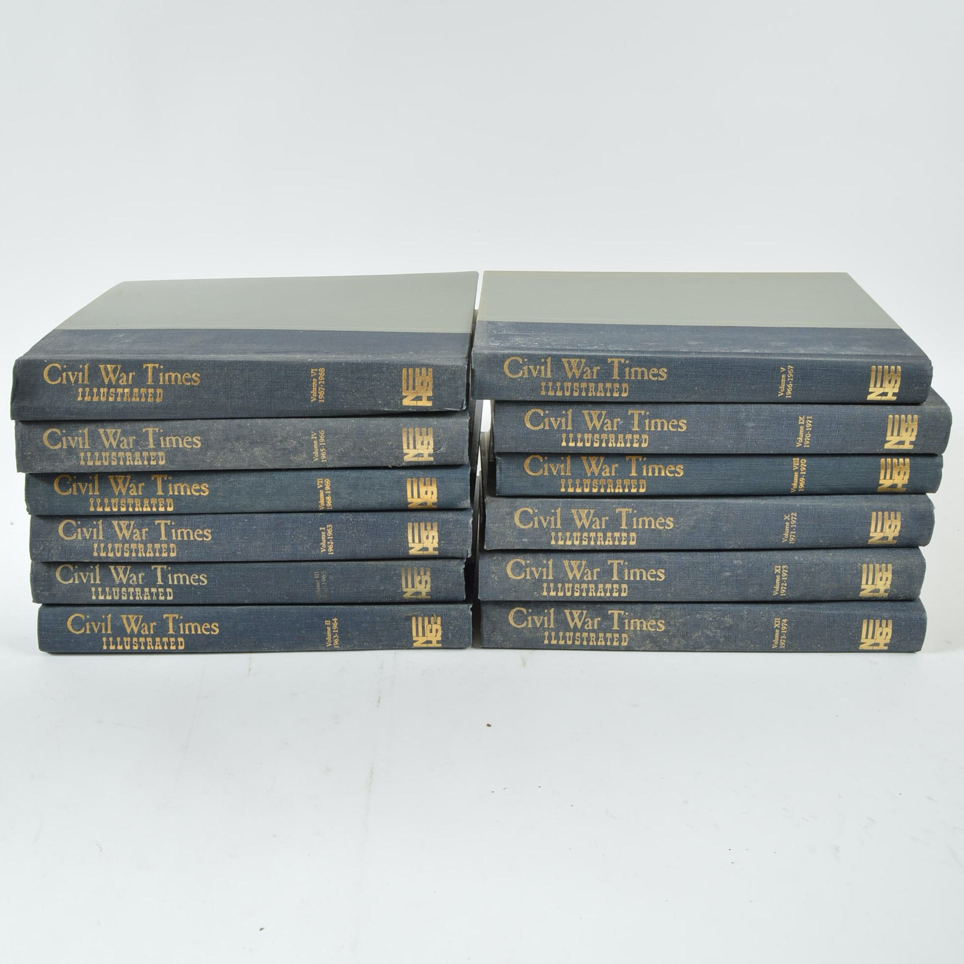 "Set of ""Civil War Times Illustrated"" Books"
